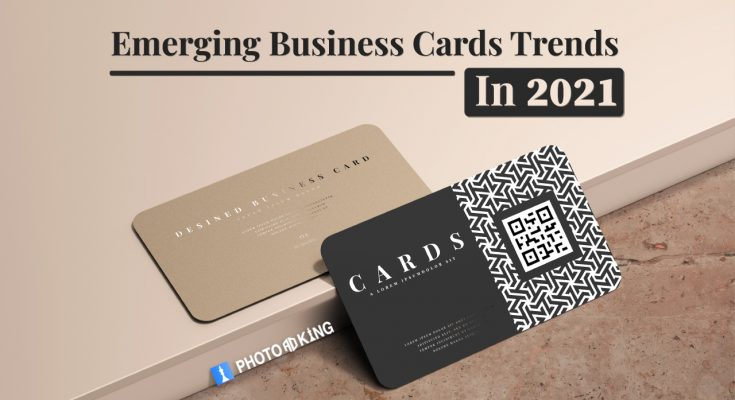 Business cards trends in 2021
