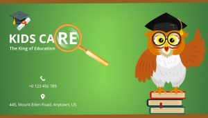 school business card template