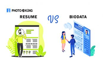 what is difference between Biodata & Resume