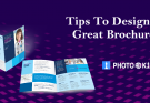 brochure design tips for beginner