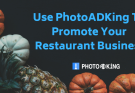 Create logo and menu card with photoadking