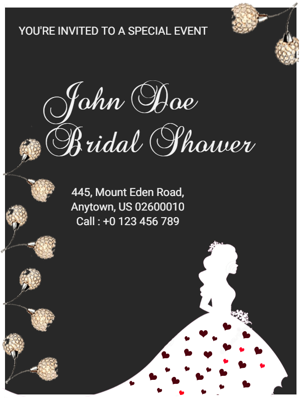 bridal shower template
