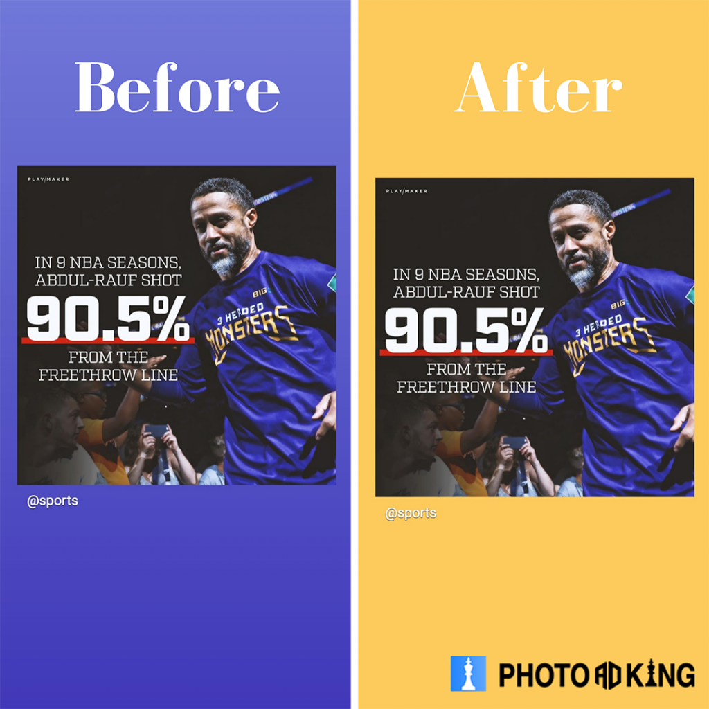 before after image