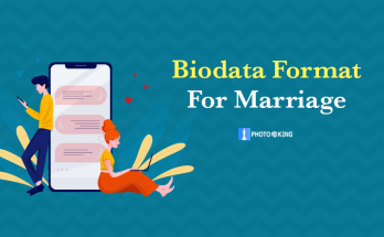 Biodata format for wedding