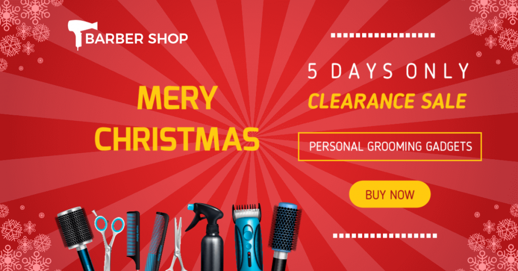 christmas sales template