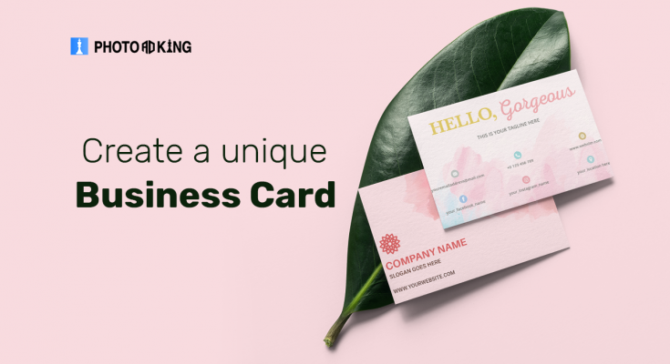 Create a unique Business Card