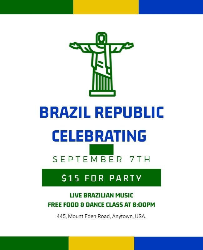 happy republic day brazil