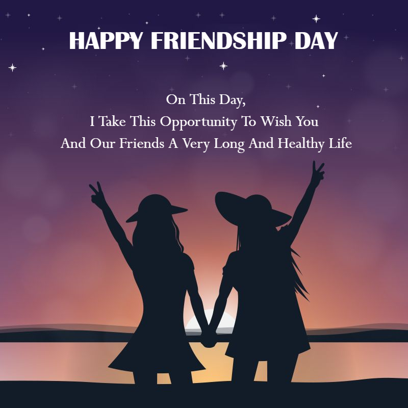 friendship day template