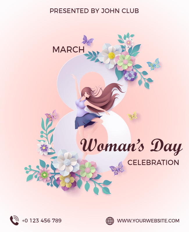 womens day sample template