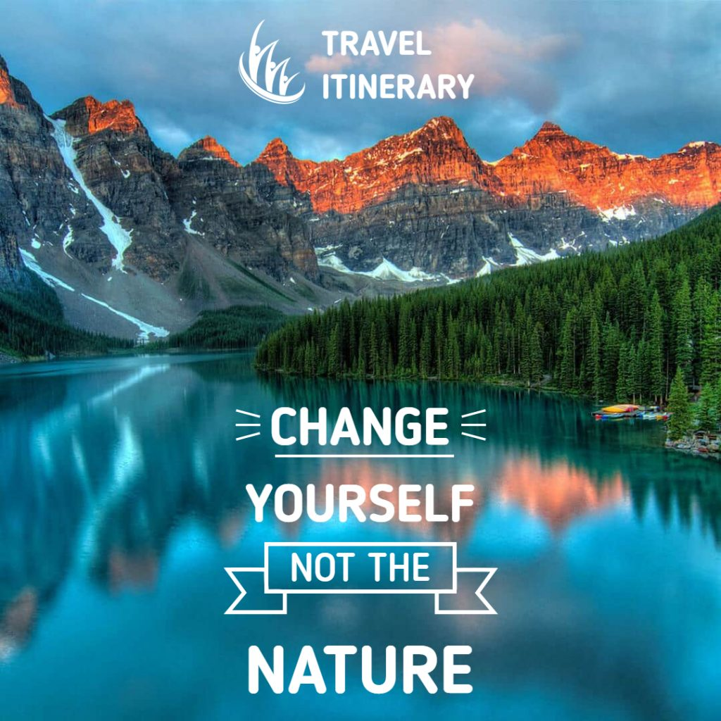 travel quote poster template