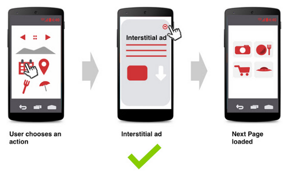 interstitial ads example