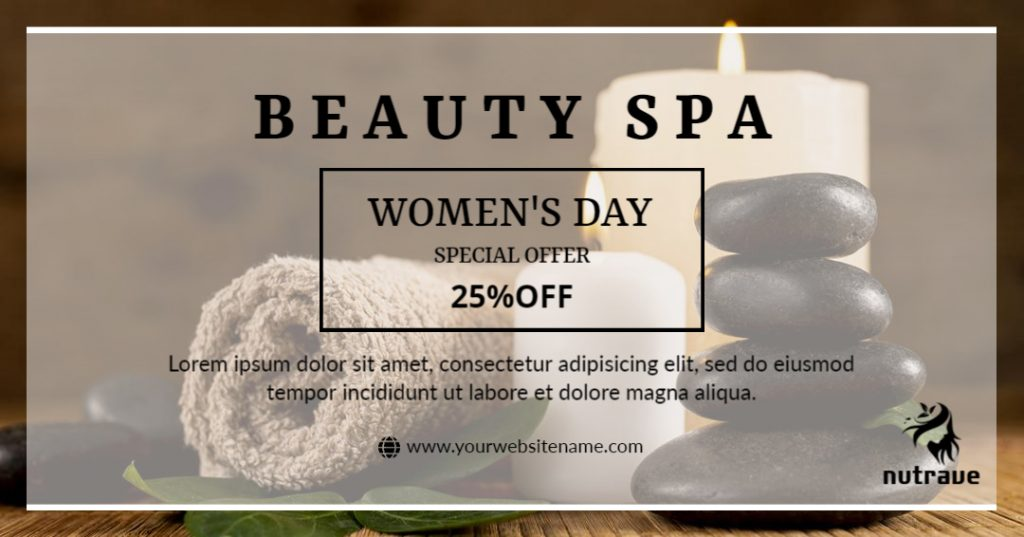 spa template for women's day