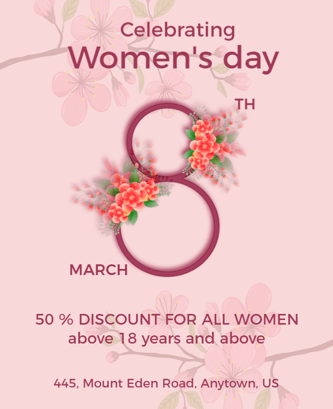 women day wishes card