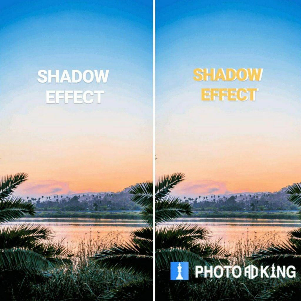 shadow iffect