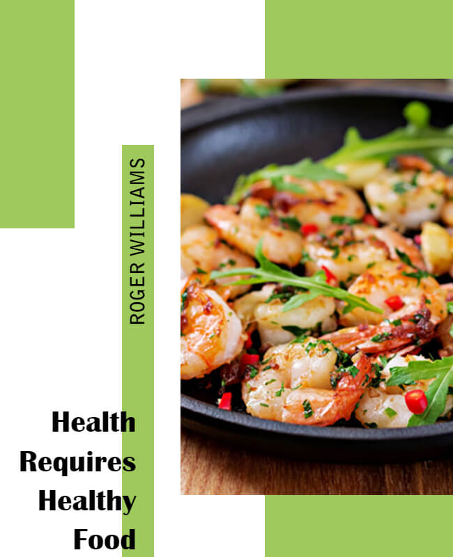 Health Required Health Food Flyer Templates