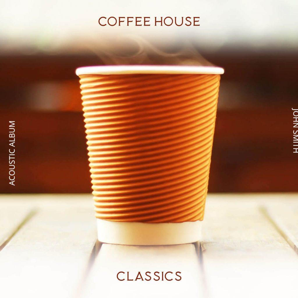 Coffee album cover templates