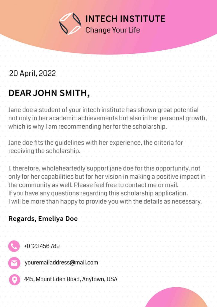 Experience letter for employees templates