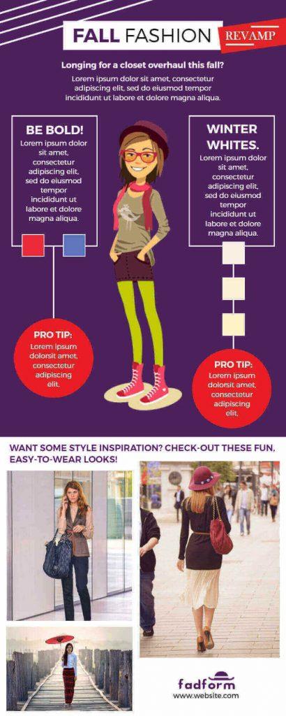 Fashion Infographics Templates
