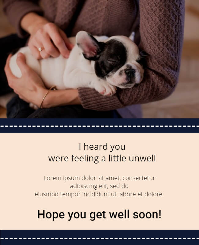 Get Well Soon Cards Templates