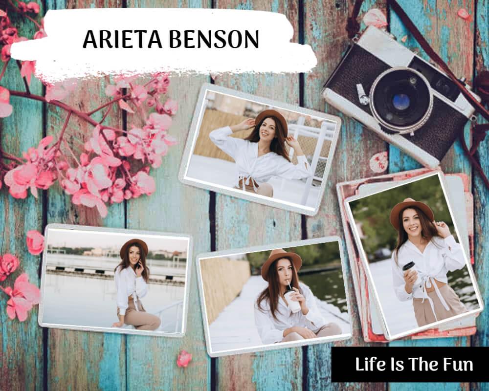 Photo book album cover templates