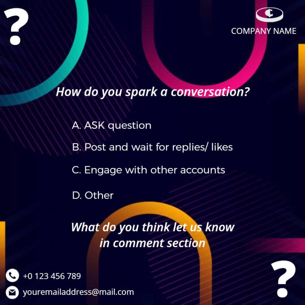 Questionnaire Instagram Post Templates