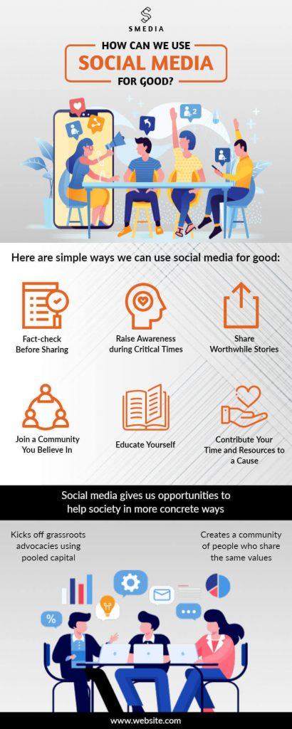 Social Media Infographics Templates