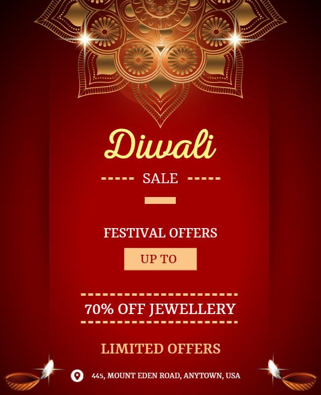 Diwali Flyer Templates