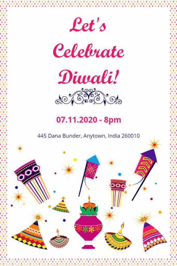 Diwali greetings templates
