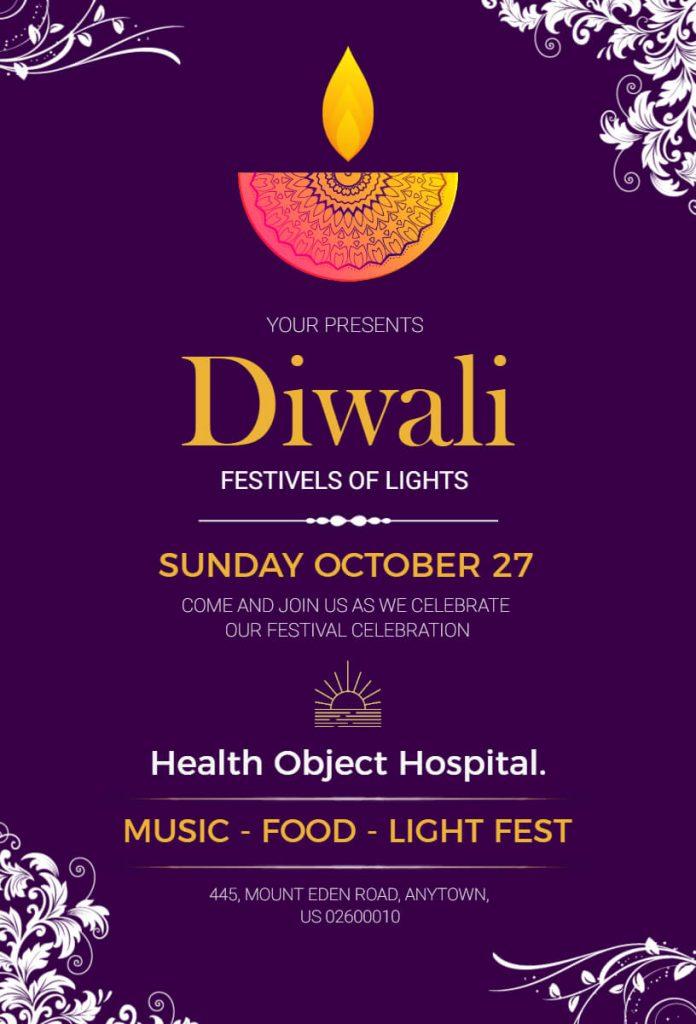 Giveaways Diwali card