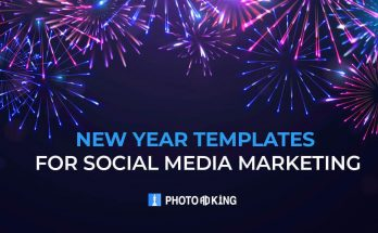 New Year Templates for Social Media Marketing