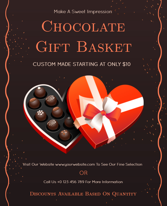 chocolate gift cards ideas