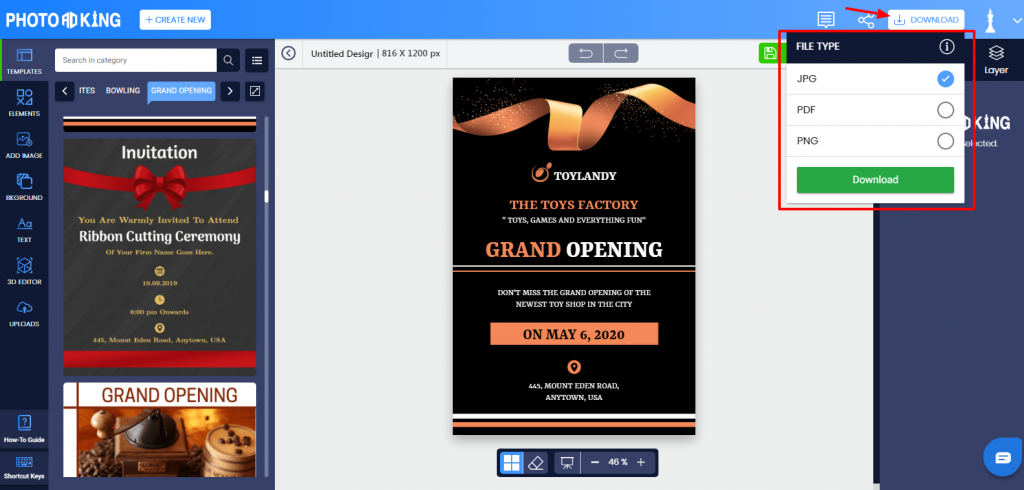 Download Invitation Templates
