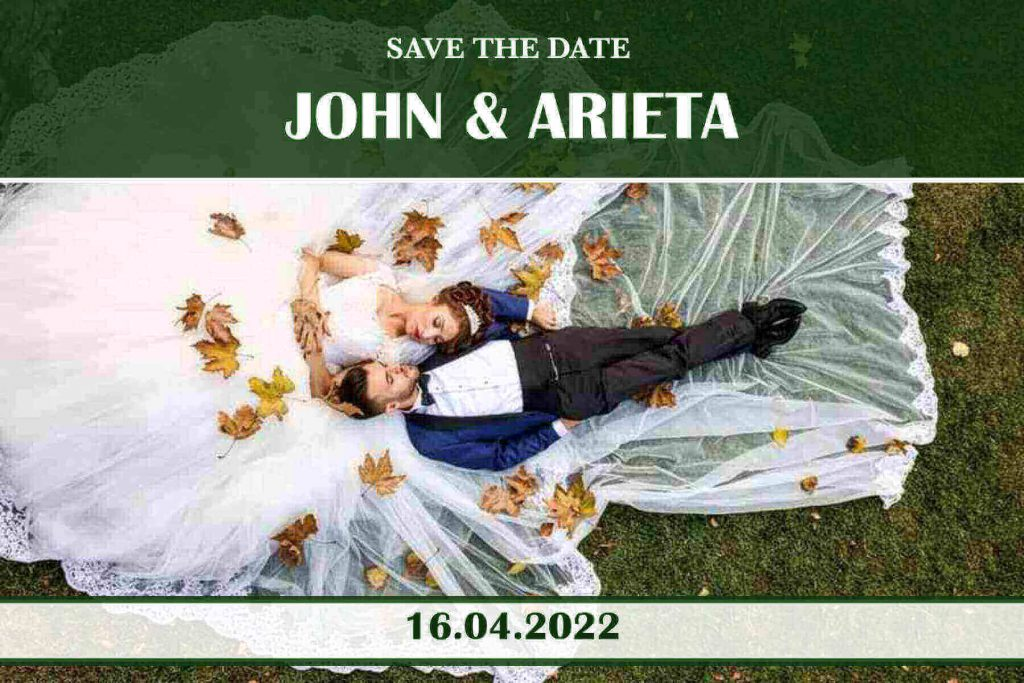 Storytelling Save the date invitation templates