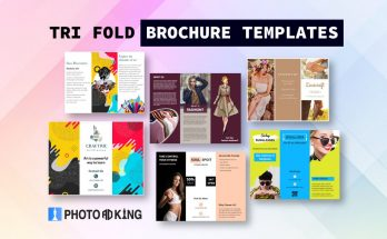 Tri-Fold Brochure Templates Designs