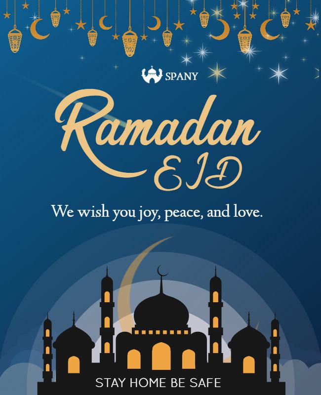 happy ramadan eid card ideas