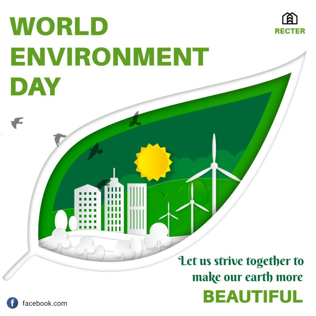 world environment day card idea