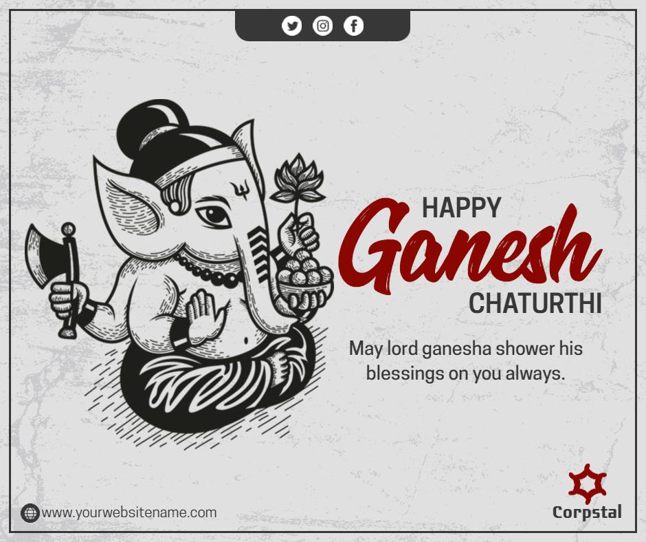 happy ganesh chaturthi  post
