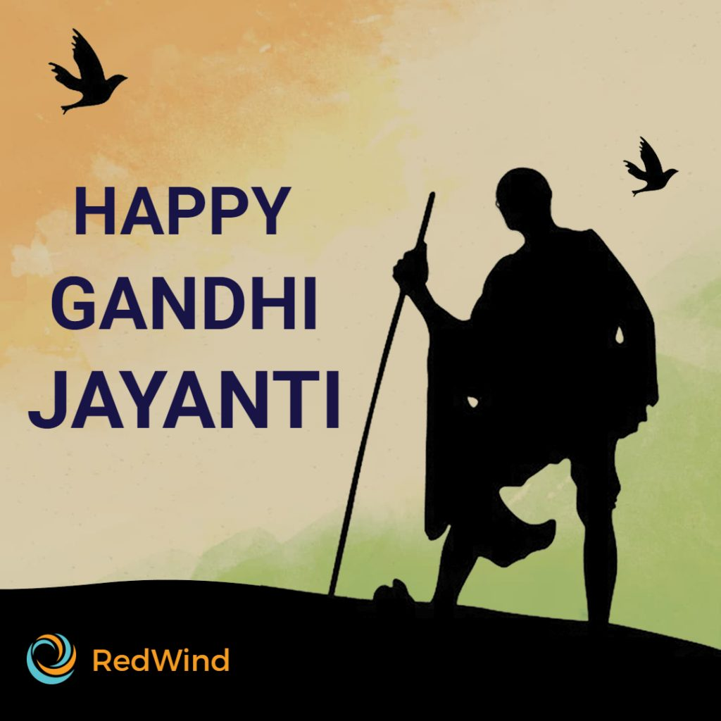 happy gandhi jayanti post