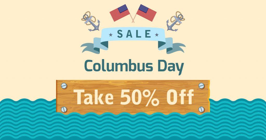 columbas day offer idea