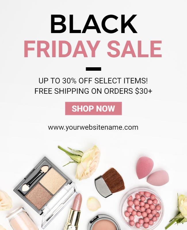 black friday sale post