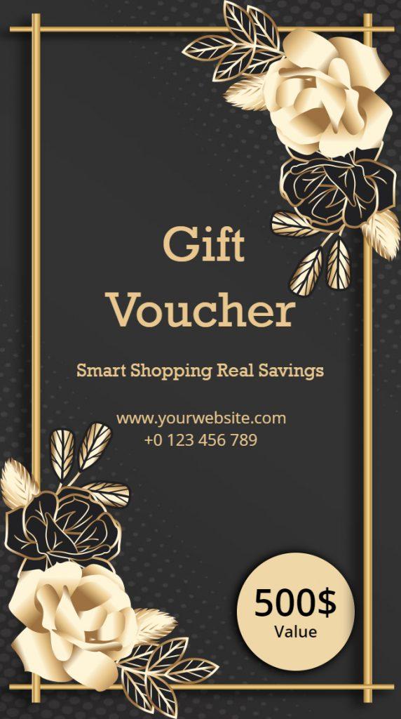 gift voucher ideas