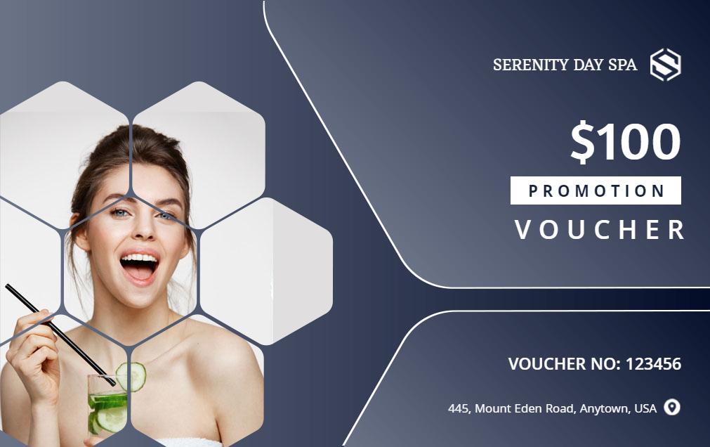 voucher gift card design