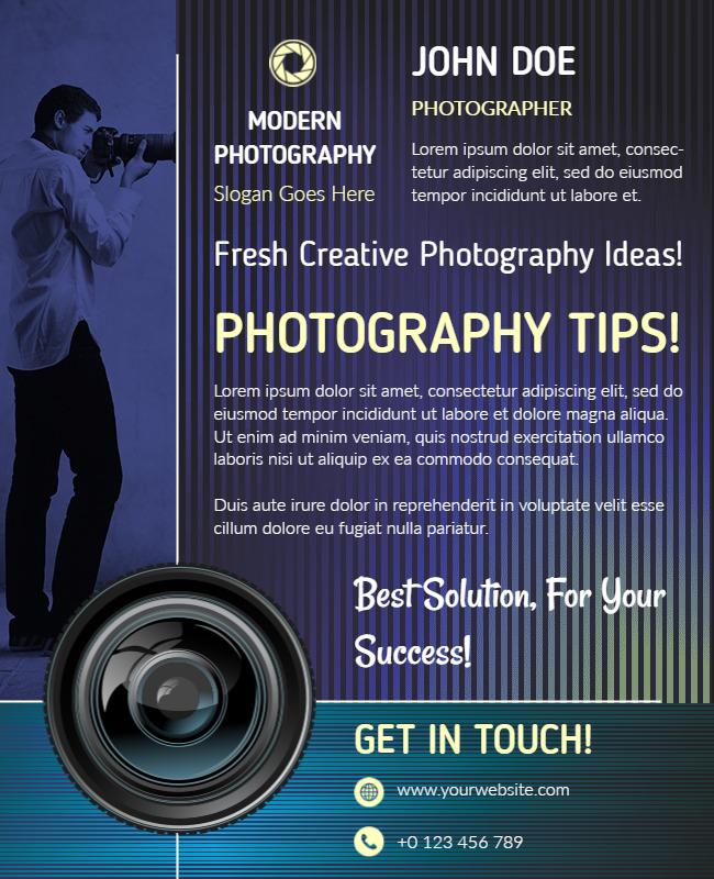 portfolio flyer examples