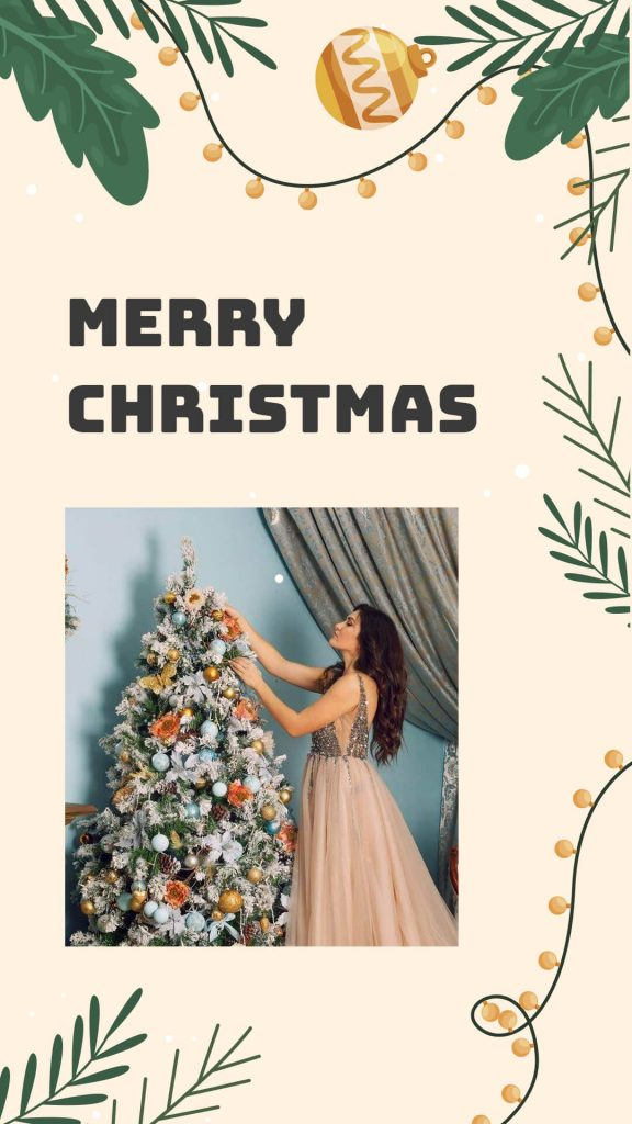 Merry Christmas Greeting on Whatsapp
