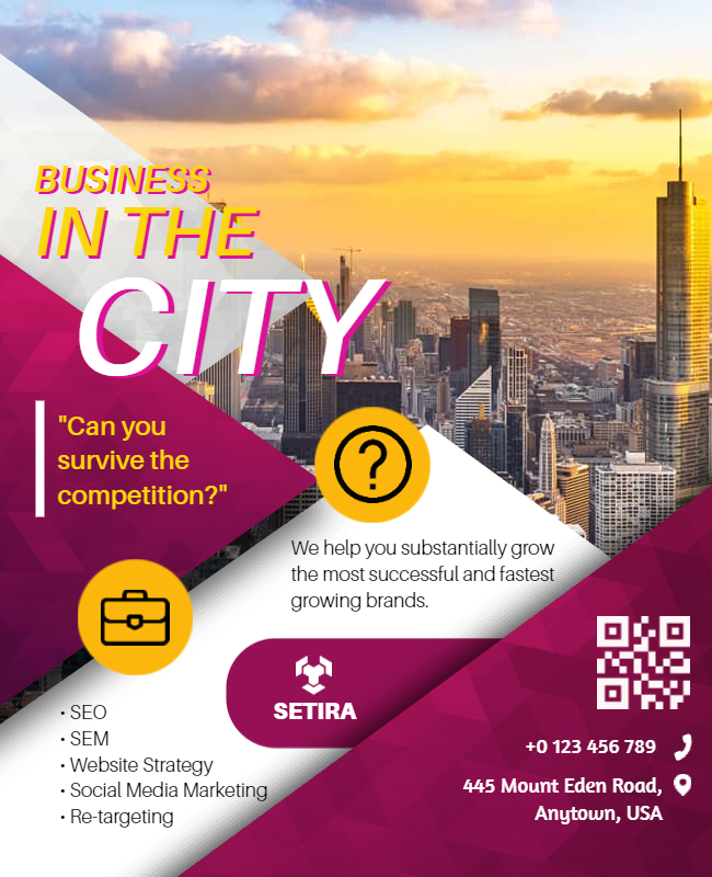 Business flyer sample