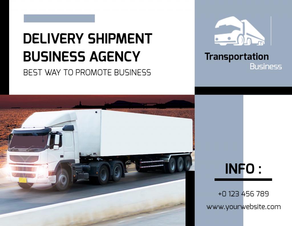 Transportation flyer examples