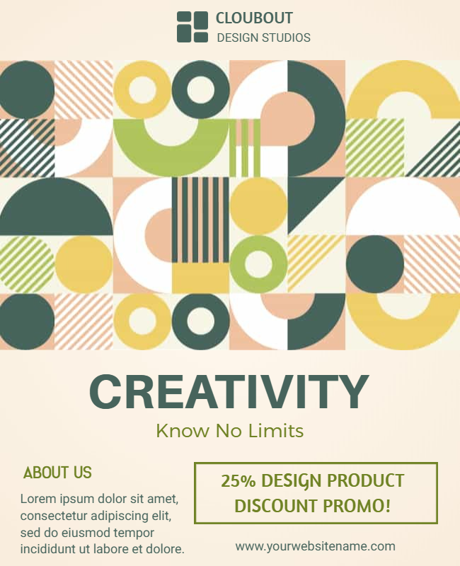 Creative flyer examples