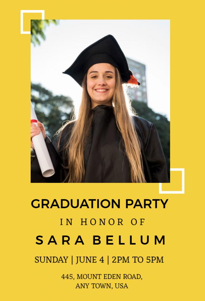 Graduation Party Flyer designs