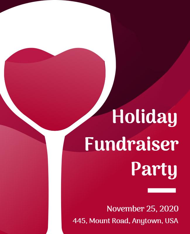 Fundraiser Party Flyer ideas