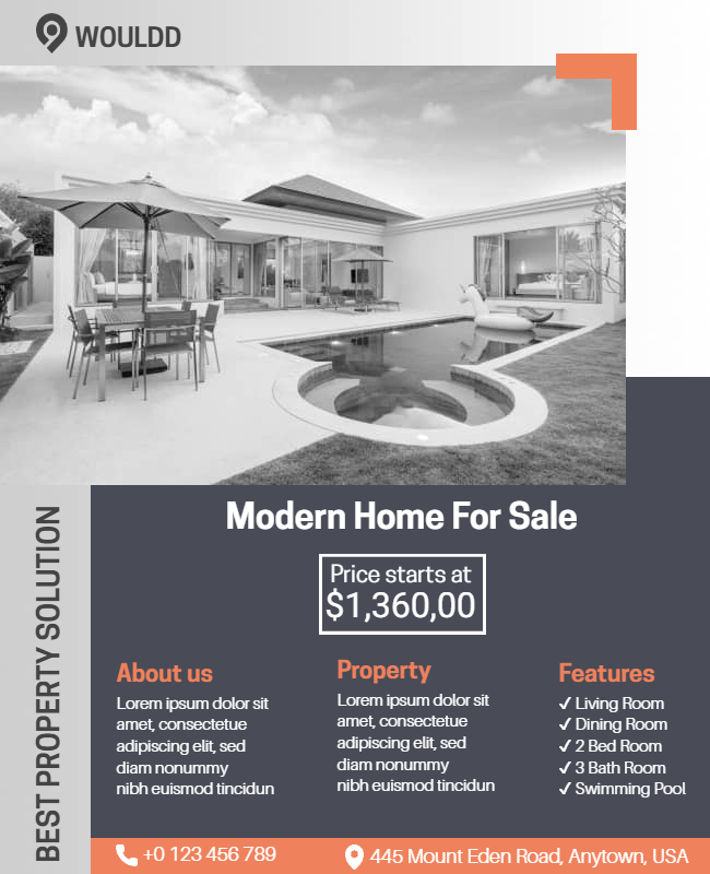 Construction Flyer examples